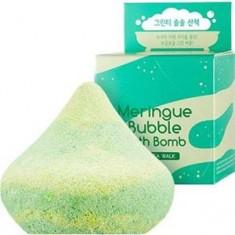 Пенная бомбочка для ванны Meringue Bubble Bath Bomb Green Tea Walk A'PIEU