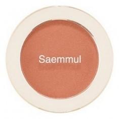 Румяна THE SAEM Saemmul Single Blusher BE02 Flash Beige 5гр