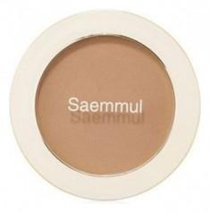 Румяна THE SAEM Saemmul Single Blusher BR02 Naked BrownShading 5гр
