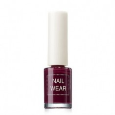 Лак для ногтей The Saem Nail Wear 14_ Deep Purple 7мл