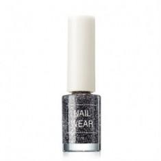 Лак для ногтей The Saem Nail Wear #75_ Dote Black 7мл