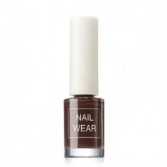 Лак для ногтей The Saem Nail Wear 19_ chocolate Brown 7мл