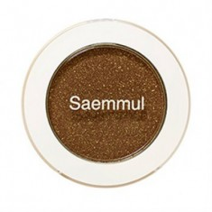 Тени для век мерцающие THE SAEM Saemmul Single Shadow (Shimmer) BR14 TMI Brown 2гр