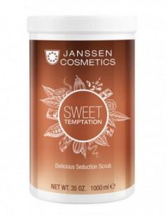 Скраб изысканный релаксирующий с какао Janssen Cosmetics Sweet Temptation Delicious Seduction Scrub 1000мл