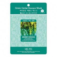 Маска тканевая морской виноград Mijin Green Caviar Essence Mask 23гр
