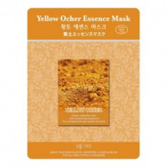 Маска тканевая охра Mijin Yellow Ocher Essence Mask 23гр
