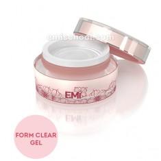 Form gel clear прозрачный скульптурный гель для моделирования на формах 50г.e.mi
