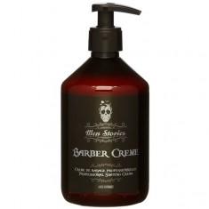 крем для бритья barber shaving cream 500мл men stories