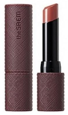 Помада для губ матовая THE SAEM Kissholic Lipstick Extreme Matte BR02 Maple Knit 3,8гр