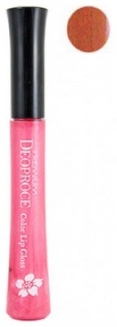Блеск для губ PREMIUM DEOPROCE COLOR LIP GLOSS 10ml #25