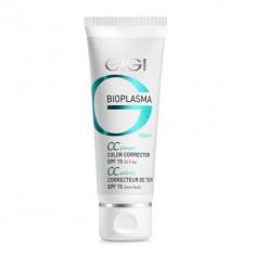 Крем для коррекции цвета кожи GIGI Bioplasma CC Cream SPF15 75 мл