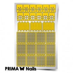 Prima Nails, Трафареты «Зима»