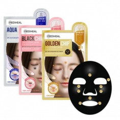 маска для лица с массажным эффектом mediheal chip circle point mask