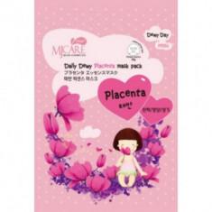 Маска тканевая с плацентой Mijin Care Daily Dewy Placenta mask pack 25гр