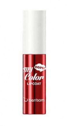 Тинт для губ Berrisom Oops My Color Lip Coat Enamel 03 Morange Red 3г