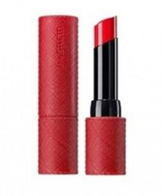 Помада для губ матовая THE SAEM Kissholic Lipstick S OR01 Dangerous 4,1г