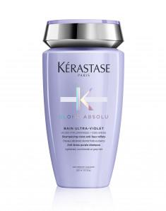 KERASTASE Шампунь-ванна мерцающий фиолетовый, нейтрализующий желтые полутона Ультра-Виолет / БЛОНД АБСОЛЮ 250 мл