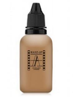 Тон-флюид водостойкий д/аэрографа make-up-atelier 5Y золотистый загар, 30 мл Make-Up Atelier Paris