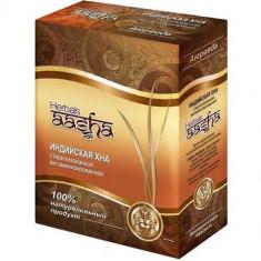 Стерилизованная Витаминизированная Индийская хна Aasha Herbals