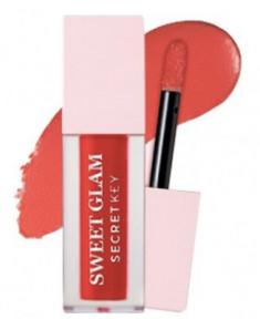 Тинт для губ вельветовый SECRET KEY Sweet Glam Velvet Tint 03 My Rose 5г