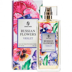 Туалетная вода для женщин Russian Flowers Violet 100 мл SERGIO NERO