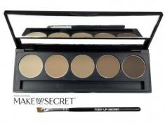 Палитра теней для бровей Make up Secret 5 оттенков (5 Brow Palette) BP-02 MAKE-UP-SECRET