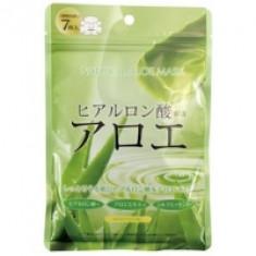 Japan Gals - Курс натуральных масок для лица с экстрактом алоэ, 30 шт