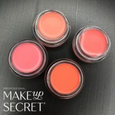 Кремовые румяна Make up Secret (Cream Blush) CB12 Натурально-розовый MAKE-UP-SECRET
