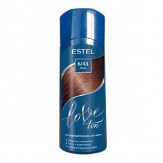 Estel Love ton оттеночный бальзам для волос тон 6/43 коньяк 150мл