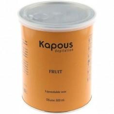 Жирорастворимый воск для депиляции в банке с ароматом дыни Kapous Professional