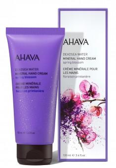 AHAVA Крем минеральный для рук, весенний цветок / Deadsea Water 100 мл