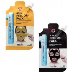 маска-пленка глубокого очищения eyenlip peel off pack