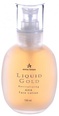ANNA LOTAN Лосьон-гель активный для лица Золотой / Revitalizing AHA Face Lotion LIQUID GOLD 100 мл