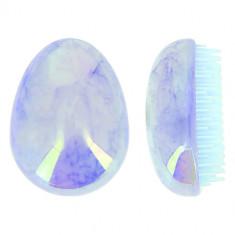 Расческа для волос LADY PINK MARBLE массажная голубая
