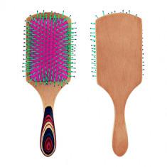 Расческа для волос LADY PINK деревянная