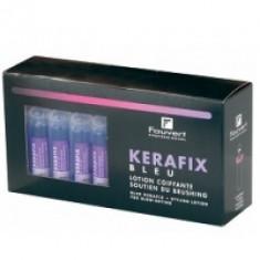 Fauvert Professionnel Kerafix Bleu - Голубой Лосьон облегчающий расчесывание и укладку волос, 30*10 мл