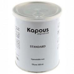 Жирорастворимый воск для депиляции в банке Натуральный Kapous Professional