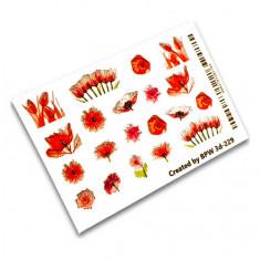 BPW.style, 3D-слайдер «Красные цветы» №3d-229