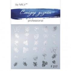 Milv, Слайдер-дизайн F217, серебро