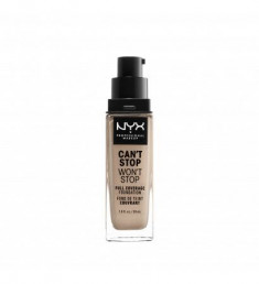 NYX PROFESSIONAL MAKEUP Тональная основа Can't Stop Won't Stop Full Coverage Foundation Porcelain 03