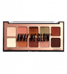 NYX PROFESSIONAL MAKEUP Тени для век Away We Glow Shadow Palette - Hooked On Glow 02