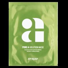 Маска тканевая для проблемной кожи с расширенными порами и склонностью к высыпаниям Avajar Pore A-Solution Mask 10 шт