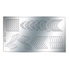 Freedecor, Металлизированные наклейки №168, серебро