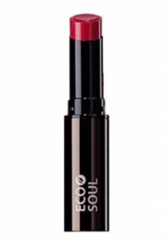 Помада увлажняющая сияющая THE SAEM Eco Soul Moisture Shine Lipstick RD03 Daehagno red 5,5г