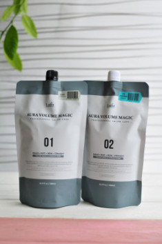 Стайлинг программа для поврежденных волос La'dor Aura Volume Magic Damaged