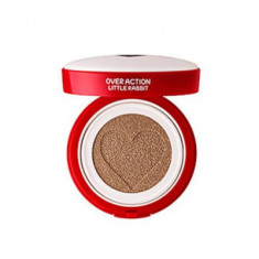 Тональная основа THE SAEM Over Action Little Rabbit Love Me Cushion №23 Natural Beige 14г