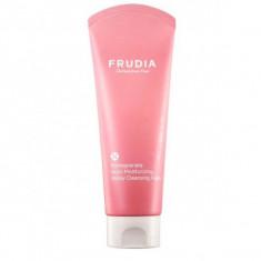 пенка для умывания с гранатом frudia pomegranate nutri-moisturizing sticky cleansing foam