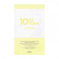 маска для лица тканевая масляная a'pieu 10 oil soak ampoule mask