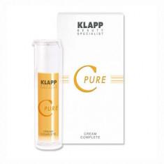 Klapp Витаминный крем C PURE Cream Complete 100мл