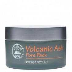 очищающая маска для лица с вулканическим пеплом secret nature volcanic ash pore pack
